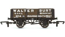 Hornby R6747 5 Plank SWB Freight Wagon 'Walter Burt' Bournemouth Brown OO Gauge