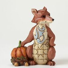 JIM SHORE HEARTWOOD CREEK MINI HARVEST FOX FIGURINE 4047833