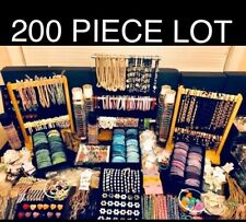 200 Piece WHOLESALE CLOSEOUT JEWELRY LOT NECKLACE ANKLET BRACELET RINGS