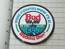 Watkins Glen Racing  Patch,  Budweiser Racing Patch (#2053)