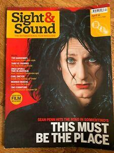 Sight & Sound April 2012 BFI British Film Movie Magazine Sean Penn Werner Herzog