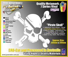 Pirate Skull Vinyl Decal Sticker - Car, Laptop, iPad, Fridge, Window, Truck