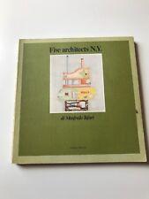 """""""FIVE architects N.Y"""" di Manfredo Tafuri - Officina Edizioni 1981 - 190 pagg."""