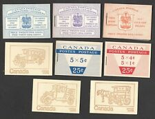 CANADA  - 8 MINT NEVER HINGED OLDER BOOKLETS -  SEE SCAN!