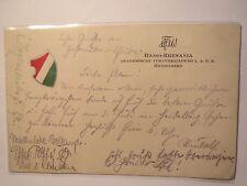 Heidelberg - ATV Hasso-Rhenania - 1926 - Farbschild / Studentika