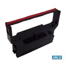 For CITIZEN IDP 3550 IDP3550 PRINTER RIBBON CASSETTE Black Red BY SMCO
