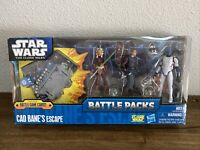 Hasbro Star Wars The Clone Wars Cad Bane's Escape Battle Pack 2011 NEW SEALED