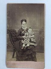 Victorian Carte De Visite CDV: Family: CJ Thompson: Norwich