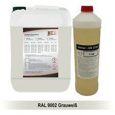 BTT-BI 2K Bodenbeschichtung farbig 15 kg Epoxidharz, RAL 9002, bis zu 75m²
