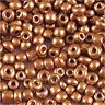 Perles de Rocailles en verre Opaque 2mm Moka 20g (12/0)
