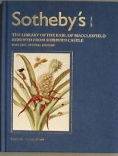 Sotheby 3/16/04 MacClesfield library Natural History *
