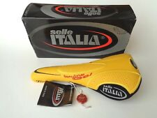 *NOS Vintage SELLE ITALIA 'FLITE' Genuine Gel Titanium leather saddle*