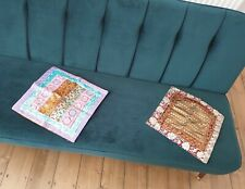 2 Indian Handmade Decorative Cushion Covers - Square