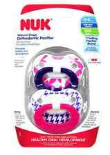 NUK Orthodontic Pacifier, 0-6 Months, 1 ea
