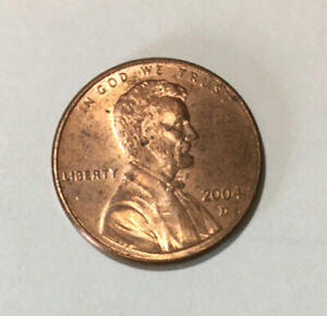 Free Shipping.....Lot 5921 2004 D OBW Roll BU LINCOLN CENTS...