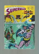 SUPERMAN BATMAN ET ROBIN N°3 . SAGÉDITION . 1969 .