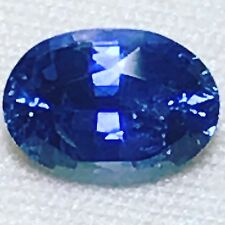 Natural 1.82 Carat Blue Sapphire Oval Genuine Loose Gemstone