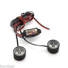 Motorcycle Motorbike Warning Rapid Flash Strobe Brake Lights LED White Safety