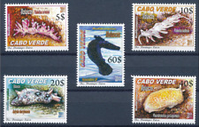 Cabo Verde - 2011 - Molluscs / Nudibranchs - MNH