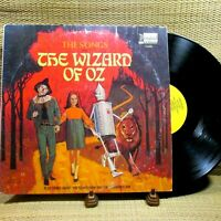 The Songs From The Wizard Of Oz LP Disneyland Record Walt Disney Production 1969