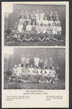 Yorkshire Postcard - Sunk Island School, Seniors and Juniors, 1928 -  T167