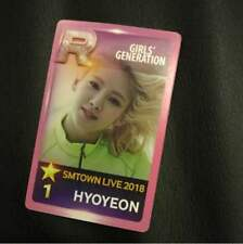 Girls' Generation HYOYEON Official Photocard SMTOWN in OSAKA Limited 2018 Goods