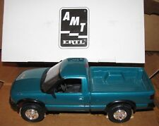 1994 Chevrolet S-10 4x4 Pickup Truck ERTL Collector Toy 6118 Teal Green Metallic