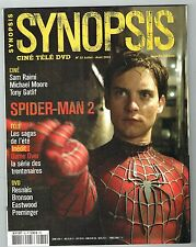 Synopsis N° 32 - Spiderman 2, Sam Raimi, Michael Moore, Série Game Over