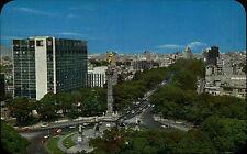 Méjico méxico color Postcard ~ 1960/70 hotel María Isabel near the angel Monument