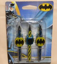 Batman,Dark Knight, Icon Candles, 6Ct. Birthday Party Candles,DecoPac,20769
