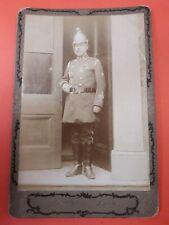 fire brigade memorabilia photo of fireman by Dexters of Lynn. C.1900