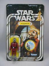 Vintage Star Wars ANH 1977 Snaggletooth *Nice* COO Hong Kong - 20 Back - Kenner