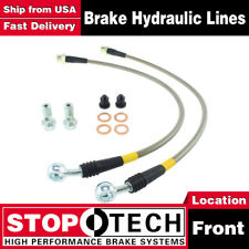 Stoptech Front Stainless Steel Brake Lines For 2004-2009 Cadillac XLR