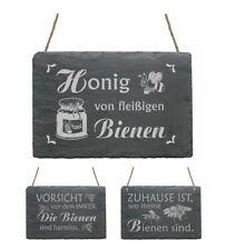 """/""""Honig aus der Region/"""",Imker,Imkerei,Bienen Werbe-Schild 21x14,5cm,klein"""