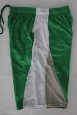 Mens Athletic Shorts XL Green Basketball Workout Run Pockets Micro Mesh Sports