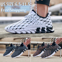 Men's Casual Running Sports Light Trainers Sneakers Breathable Athletic Shoes