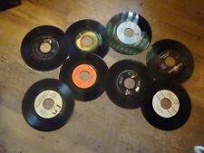 8 Vinyl Records 45 RPM Elvis the Beatles Jackson Browne Ace Ball Merle Haggard +