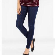 Motherhood Maternity full panel dark wash skinny jeans size 2X