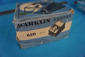 Marklin 6511 Transformer 220 v. 50/60 hz 16VA Max. 1amp. OVP