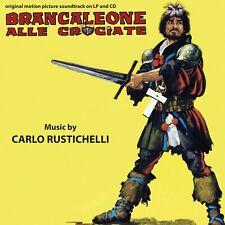 Carlo Rustichelli Bracaleone Alle Crociate OST LP + CD Digitmovies