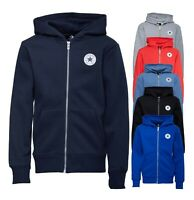 Boys Converse Brushback Printed Fleece Full Zip Hoody Sizes Age from 8 to 13 Yrs