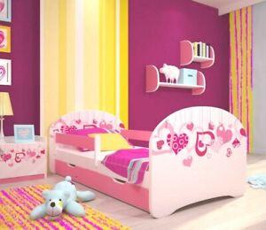 Toddler Bed Children Bed Kids Bed + FREE  MATTRESS+FREE DRAWER  140x70 160x80