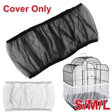 More details for nylon pet bird cage cover seed catcher shell skirt decoration guard mesh net