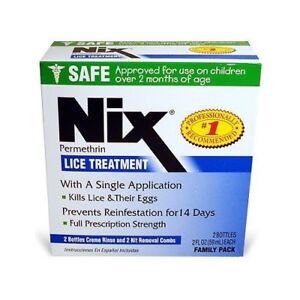 NIX Cream Rinse Family Pack 2x2-Ounce Box