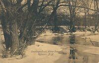 SYRACUSE NY – Onondaga Creek Winter Scene
