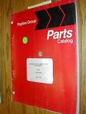 International H-400C PARTS MANUAL BOOK CATALOG COAL DOZER GUIDE 1128108R1 LIST