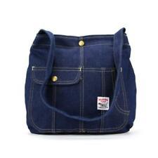 Vintage 1990s Pointer Brand Pocketed Denim Shoulder Bag Tote