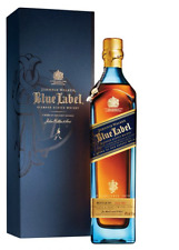 Boxed Johnnie Walker BLUE LABEL 750ml (extra 50mL)