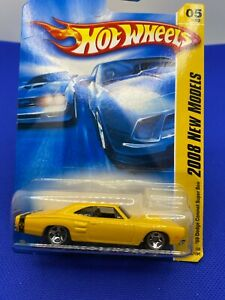 Hot Wheels 2008 New Models 1969 Dodge Coronet Super Bee  Yellow