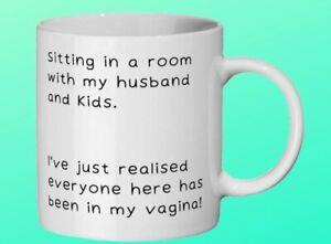 Rude Mug for a Mum. Birthday gift. Mum to be gift. Baby shower present.